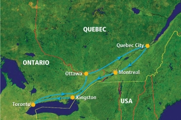 CANADA EASTERN EXPRESS FLY & DRIVE