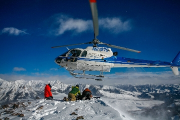 HELI SKI EN SUN VALLEY